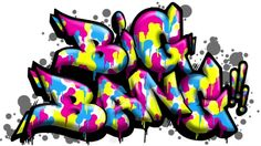 wacom cintiq companion hybrid drawing by leodav-bigbang graffiti