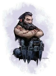 Dwarven close quarters warrior