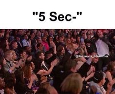 HAHAHAHA me when someone says 5 seconds of summer