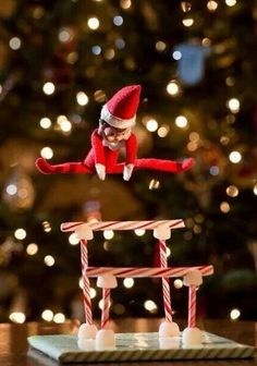 Top 25 Elf on the Shelf Ideas on Pinterest