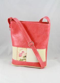 Kabelky - taška Alex červená -