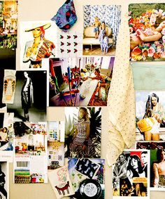 Kneeland Co. Refinery 29 Feature: This Designer Takes Inspiration Boards To The Next Level #refinery29 http://www.refinery29.com/2014/08/72634/kneeland-mercantile-joanna-williams