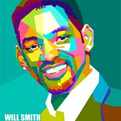 Will Smith Artwork Pop Art Portraits, Portrait Art, Pop Art Posters, Joker Art, Painting People, Arte Pop, Face Art, Unique Art, Sculpture Art