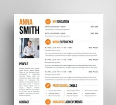 Resume Template + Cover letter + Reference page / Free business cards… Modern Resume Template, Cover Letter Template, Resume Template Free, Creative Resume Templates, Letter Templates, Free Resume, Resume Templates For Students, Cv Template Student, Brochure Template