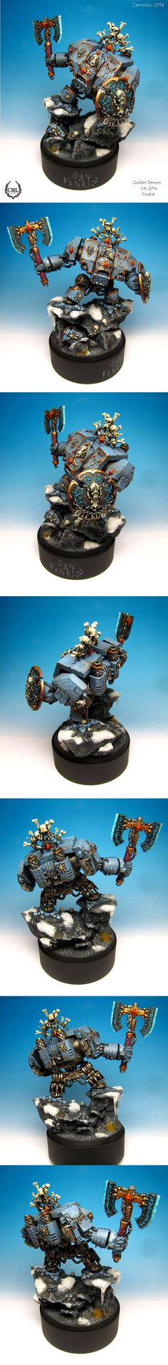 40k - Space Wolves Dreadnought by camelson