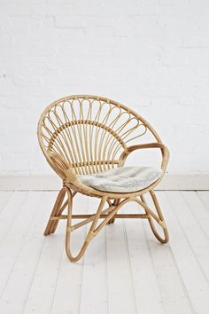 Beau Rattan Round Chair Natural   The Family Love Tree