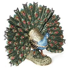 Peacock Trinket Box | Jewelry Boxes | Novelty | Decor | Z Gallerie