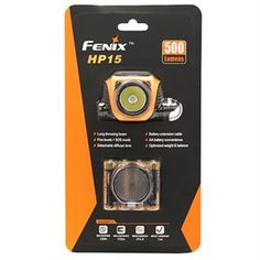 The Fenix HP15 Headlamp pushes past current performance boundaries with 500-lumen max output and 172-meter throw. Wear options expand as an exclusive cable extension moves the compact battery box from head to pack as desired. Four AA batteries and five brightness levels deliver capable runtimes. A 125-lumen SOS mode, removable diffuser and 60 degrees tilt complete the HP15's total lighting package. Features: - Utilizes Cree XM-L2 LED with a lifespan of 50,000 hours - Uses four AA batteries
