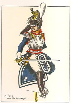 French; 6th Cuirassier Regiment, Colonel, 1813, as per 1812 regulations