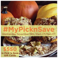 """Like"" to win a $100 Pick 'n Save Gift Card?  Join me at #MyPicknSave Twitter Party Nov.19 10am CT/11am ET  RSVP here:  http://freebies4mom.com/mypicknsave #ad"