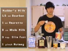 Mudder's Milk They called it panda piss in Chinese in the show why would you make a drink recipe after it??? slim fast?