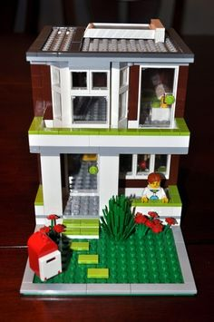 Townhouse: A LEGO® creation by Ian Simmons : MOCpages.com