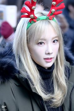 てよんトナカイが舞い降りたヨ ღ Music bank 151204 - Taeyeon Candy News ☺ Snsd #taeyeon #snsd