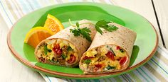 breakfast burrito a different way to start your day burritos with eggs ...