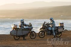 """DREAM ADV TOUR: Adventure Surf and Turf Trip in Mexico Turning """"someday"""" into today on the BMW R1200GS Adventure and the KTM 1190 Adventure R."""