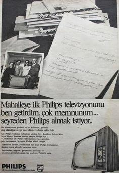 OĞUZ TOPOĞLU : philips televizyon 1975 nostaljik eski reklamlar