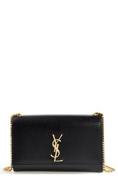 adc39343baa5 Saint Laurent  Medium Kate  Leather Chain Shoulder Bag