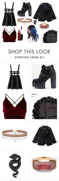 """""""Sin título #19"""" by martagc2 on Polyvore featuring moda, WithChic, Urban Decay, Miss Selfridge, Lydia Courteille, Jade Jagger y MAC Cosmetics"""