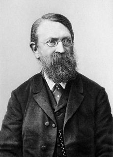 Ernst Waldfried Josef Wenzel Mach (February 18, 1838 – February 19, 1916) was an Austrian physicist and philosopher, noted for his contributions to physics such as the Mach number and the study of shock waves. As a philosopher of science, he was a major influence on logical positivism and through his criticism of Newton, a forerunner of Einstein's relativity.