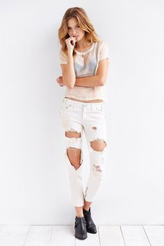 One Teaspoon Freebird Skinny Jean