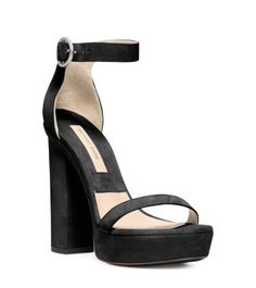 Soft, romantic shades of gray are the new neutral for fall. Complement the polished, laid-back knits and dresses of the season with our equally refined Adelina Runway sandals. Sumptuous suede lends a luxe touch while a substantial heel and platform sole make this pair as sensible as they are stylish.