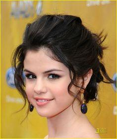 selena gomez short hair updo - Google Search