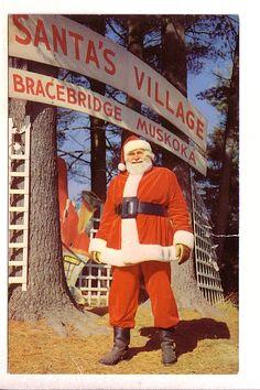 Santa Clause, Santa's Village, Bracebridge, Ontario, Henry Fry