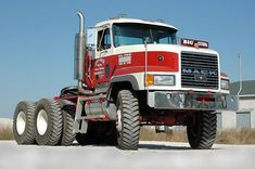 Old Mack Trucks, Old Pickup Trucks, Big Rig Trucks, Dump Trucks, New Trucks, Heavy Duty Trucks, Heavy Truck, Trailers, 6x6 Truck