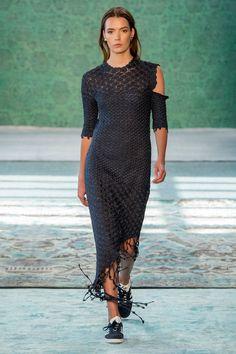Hellessy at New York Fashion Week Spring 2017 - Crochet Dress