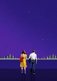 Ryan Gosling and Emma Stone were able to sway us away to La La Land with their latest musical and romantic movie, La La Land. Broadway, La La Land Art, The Martian Film, Famous Movie Quotes, Movie Poster Art, Movie Wallpapers, Love Images, Series Movies, Tv Series
