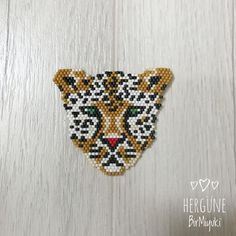 Day 3 / Day Tiger / Tiger the is # 3 to # that Source by Seed Bead Patterns, Loom Patterns, Beading Patterns, Stitch Patterns, Bead Embroidery Jewelry, Beaded Embroidery, Bead Jewellery, Beaded Jewelry, Bead Loom Bracelets