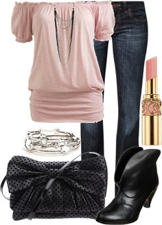 """""""pink"""" by stephiebees on Polyvore"""