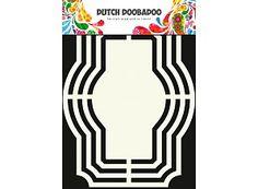 Niederländisch Doobadoo Holländische Kunst Form Bulge 15x15