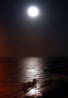 Super Lua... Lagoinha, Ceará, Brasil...