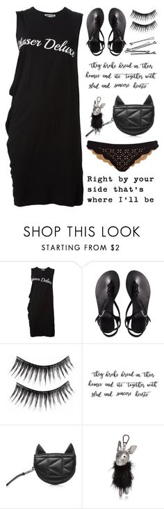 """""""right by your side"""" by alongcametwiggy ❤ liked on Polyvore featuring McQ by Alexander McQueen, ASOS, Karl Lagerfeld, BOBBY, Kendall + Kylie and Marysia Swim"""
