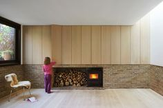 Kew House - Picture gallery #architecture #interiordesign #fireplace