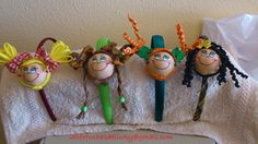 Diademas fofuchas  - varios modelos/Fofucha dolls  hairbands - various models