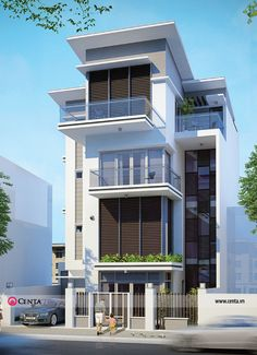 50 mẫu thiết kế nhà phố đẹp độc đỉnh | Thiết kế nội thất Nhà phố