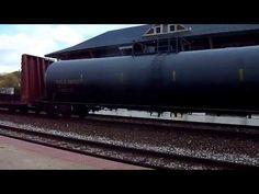 Norfolk Southern train headed south thru Lafayette