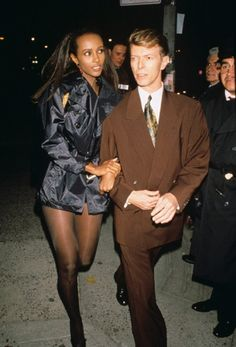 david bowie & Iman - Google Search
