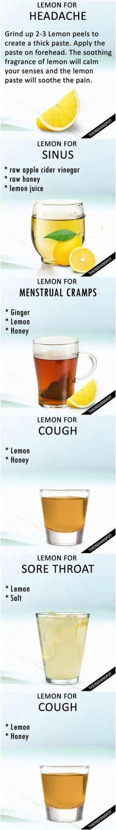 Lemon remedies