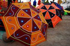 Colorful Umbrella Photography | Back