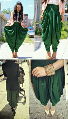 Classy Patiala Amazing Ways to Wear Patiala Salwar is part of Patiala pants - Classy Patiala Salwar Outfits Patiala shalwar attire is generally linked with the subcontinent and Middle Eas Patiala Salwar, Patiala Pants, Patiala Dress, Anarkali Dress, Lehenga, Fashion Pants, Look Fashion, Indian Fashion, Classy Fashion