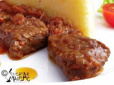 Romanian Food, Romanian Recipes, Carne, Steak, Pork, Low Carb, Cooking Recipes, Beef, Kale Stir Fry