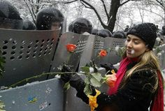 Ucrania. Revolución naranja. 2004.