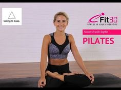 Pilates Activating glutes, awakening your core by Sophie - YouTube