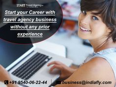 Start your Career with travel agency business without any prior experience, you can become an Independent Travel Agent with STA and work from anywhere and time.  know more visit : http://www.starttravelagency.in/