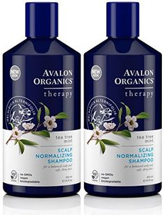 Avalon Organics Scalp Normalizing Tea Tree Mint Shampoo 14 Ounce Pack of 2 -- Details can be found by clicking on the image.Note:It is affiliate link to Amazon.