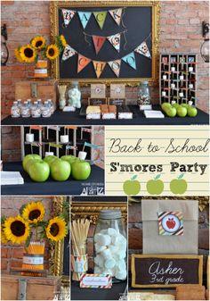 Back to School party idea with DIY decor ideas.