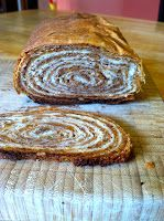 Slovenian Roots Quest: Potica: A Step-by-Step Guide to Slovenian Nut Roll Slovak Recipes, Czech Recipes, Hungarian Recipes, Hungarian Walnut Roll Recipe, Slovak Nut Roll Recipe, Polish Nut Roll Recipe, Just Desserts, Delicious Desserts, Yummy Food